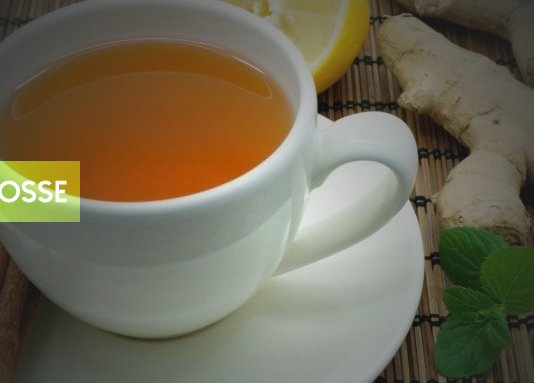 chá para tosse