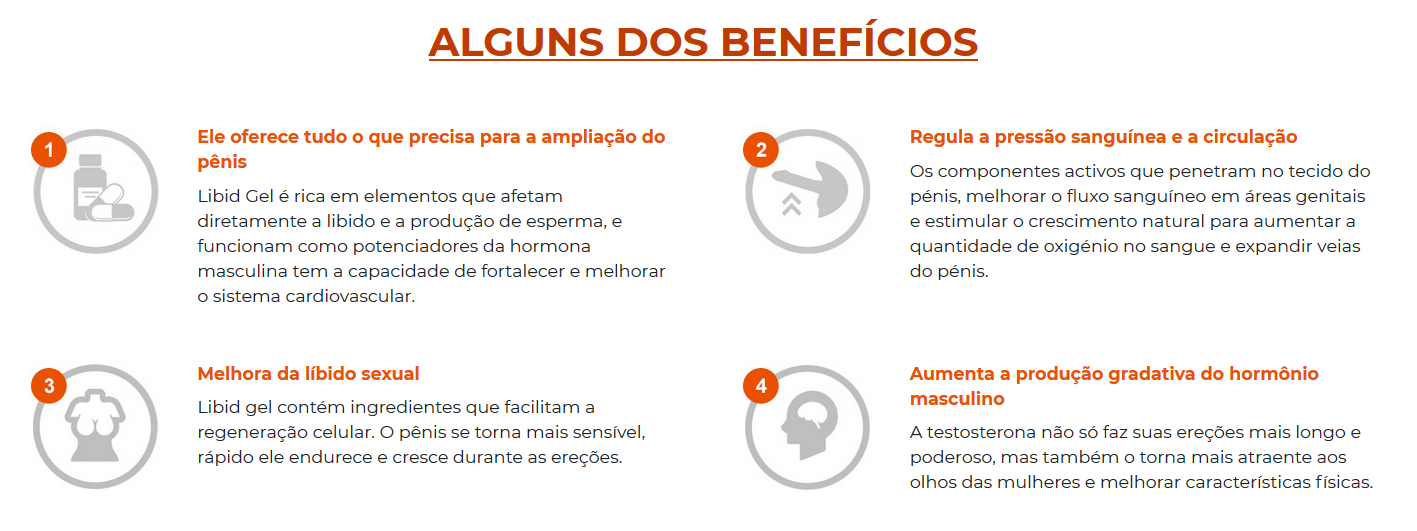 Beneficios do Libid Gel